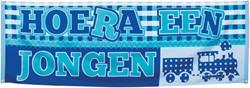 Banner Jongen 74 X 220cm