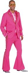 Bling Bling Kostuum Seventies Pink