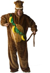 Kostuum Aap Pluche Luxe met Bananen