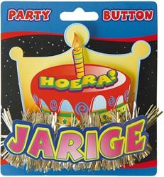 3D Button Jarige