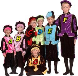 Kostuum Zwarte Piet Pink