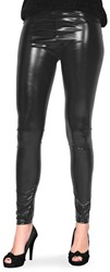 Legging Metallic Luxe Zwart