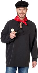 Antiekkiel Zwart Bistretch
