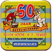 Pocket Tin 60 jaar Vrouw