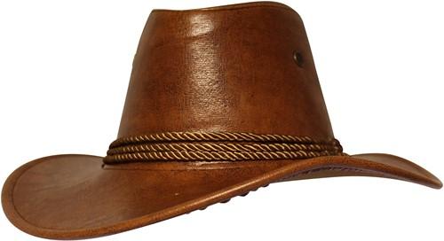 Western Cowboyhoed Bruin met Koord (Nepleer)