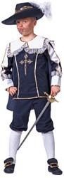 Kinderkostuum Musketier Luxe