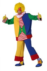 Herenkostuum Clown Multi