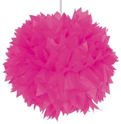 Decoratie Pompom Pink 30cm