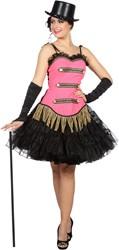 Toppers Circus Corset Pink voor dames