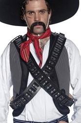 Authentieke Western Kogelriem Zwart Luxe