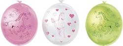 Ballonnen Paarden 6st.