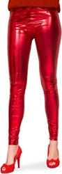 Legging Metallic Luxe Rood