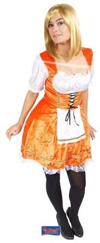 Oranje Tiroler Jurkje