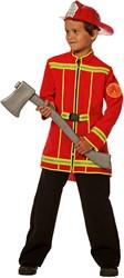 Kinder Brandweerjas Rood