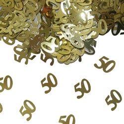 Confetti 50 Goud