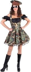 Leger Camouflage Jurkje Officier voor dames