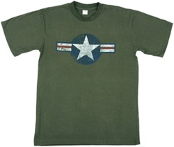 T-Shirt US Airforce Vintage