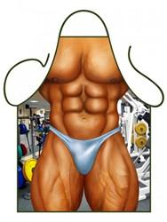 Schort Muscle Man - Bodybuilder