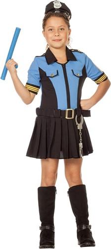Politiejurkje Blauw voor meisjes