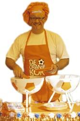 Oranje Kok Schort