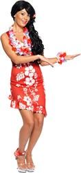 Dameskostuum Hawaiiaanse Beauty