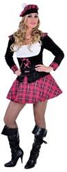 Schots Meisje Luxe Pink