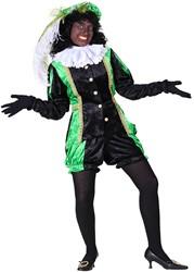 Dames Pietenpak Castillie Zwart/Groen