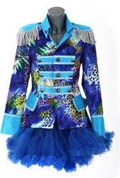 Dames Blazer Blue Panther Luxe