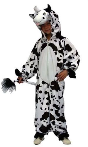 Kinder Koeienpak Pluche