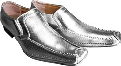 Disco Schoenen Glitter Zilver