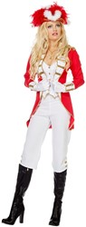 Dameskostuum Garde Rood-Wit