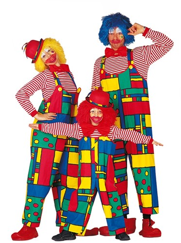 Dames Clownsbroek Mondriaan