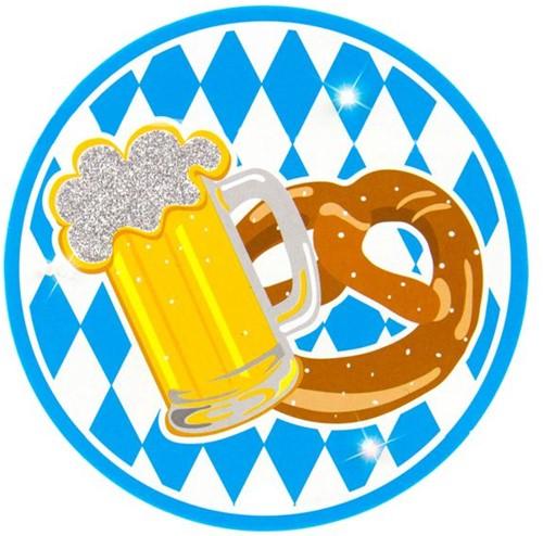 Button Oktoberfest Bavarian + LED