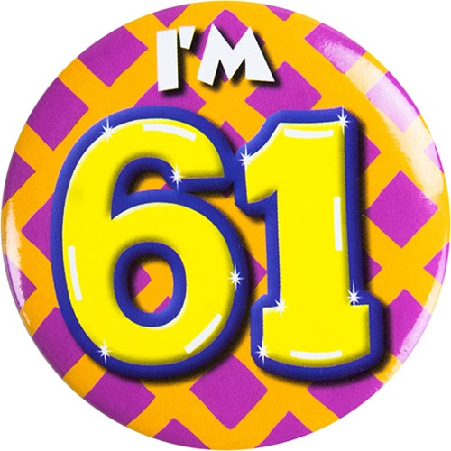 Button 61 jaar