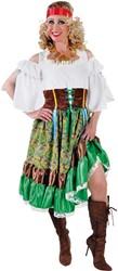 Dameskostuum Zigeunerin Luxe