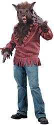 Halloween Kostuum Weerwolf (4dlg)