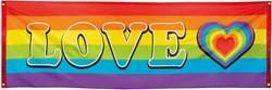 Banner Regenboog Rainbow (74x220cm)