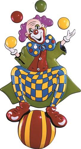 Deco Clown Jongleur (100x55cm)