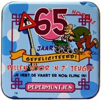 Pocket Tin 65 jaar Man