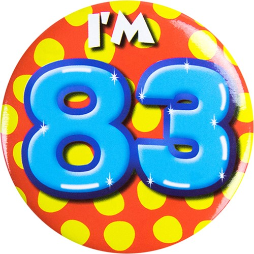Button 83 jaar