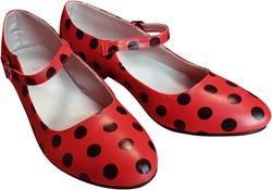 Spaanse Schoentjes Rood/Zwart