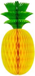 Decoratie Honeycomb Ananas (33x15cm)
