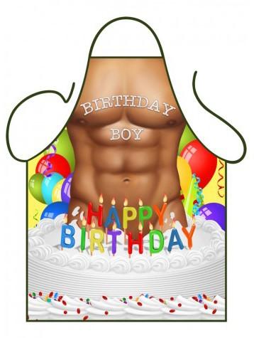Schort Happy Birthday Boy