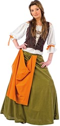 Damesjurk Middeleeuwse Taverne Dame