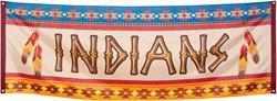 Banner Indianen 220x74cm