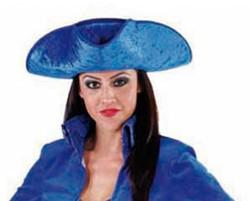 Driespits Fluweel Blauw