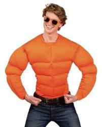 Shirt Spierbundel Oranje