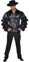 Samba Hemd Luxe Zwart