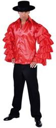 Samba Hemd Luxe Rood