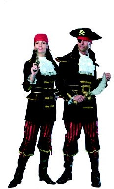 Herenkostuum Piraat de Luxe